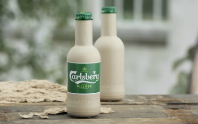 Carlsberg Develops Paper Beer Bottle